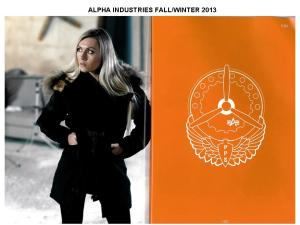 ALPHA INDUSTRIES FALL1