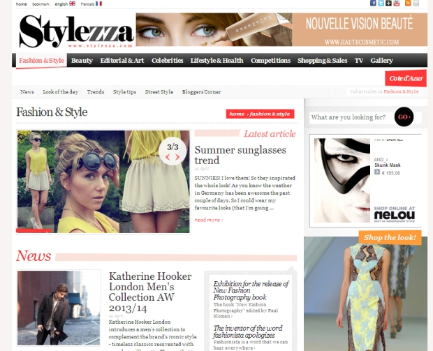 SKINNYCATURE'S SUNNIES-SUMMER-TREND SPOTTED BY STYLEZZA MAGAZINE